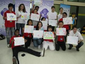 Ambasádorka OH mládeže v Singapure