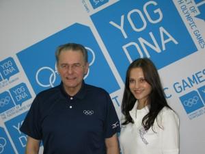Ako ambasádorka OH mládeže v Singapure som sa stretla s prezidentom MOV, pánom Jacquesom Roggem