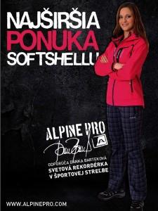 Reklamná kampaň v predajniach Alpine Pro